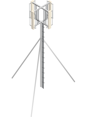 ADS-B radio tower