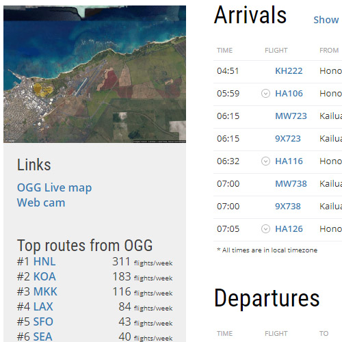 flightradar arrivals and departures